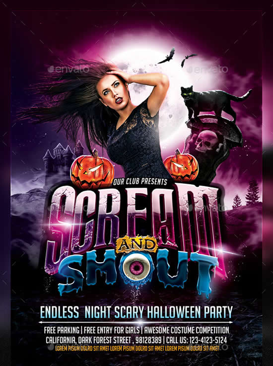 Scream and Shout Halloween Party