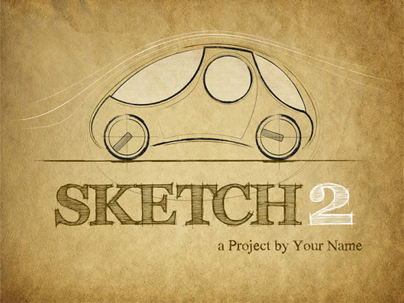 Sketch 2 Keynote Template