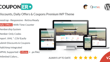Top Coupon and Voucher Code WordPress Themes