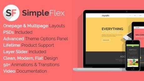 Top Flat Design Themes