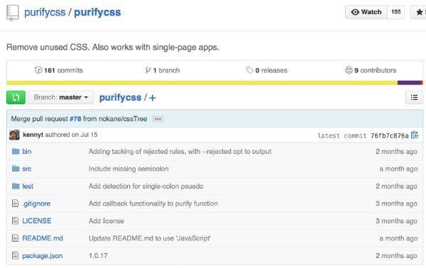 PurifyCSS