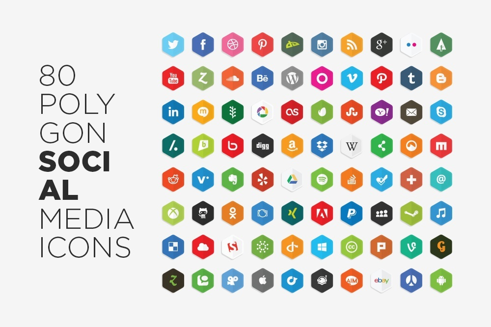 free_vector_polygon_social_media_icons_by_lunarpixel-d65vlno