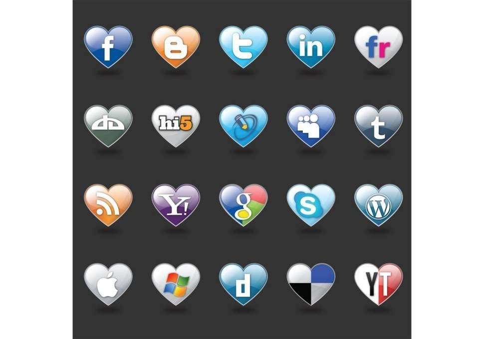 i-love-social-media-vector