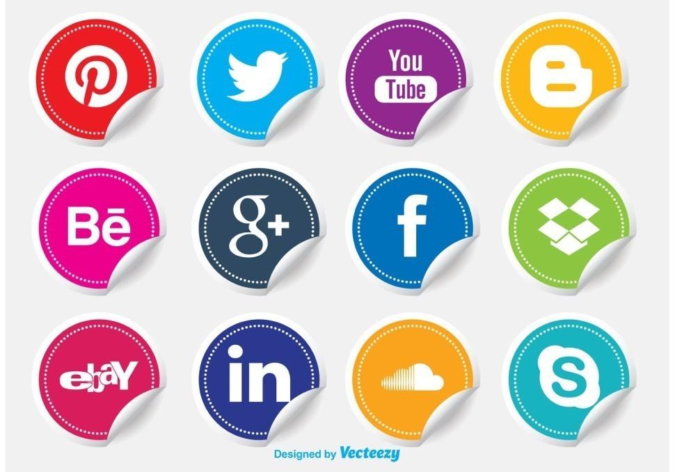 social-media-icon-stickers-vector