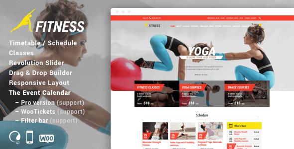 Fitness Responsive Theme