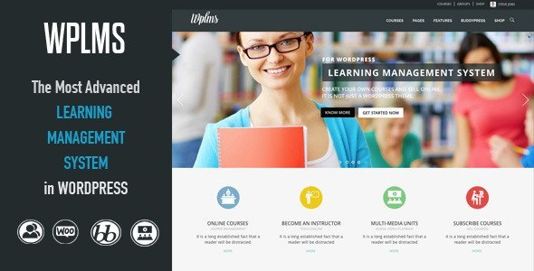 WPLMS Learning Management System</p> <p>