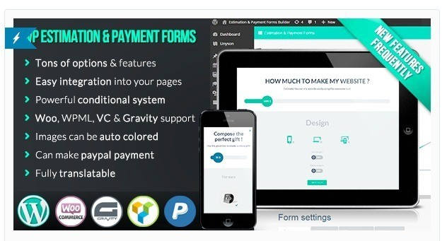 WP Estimation and Payment Forms Builder