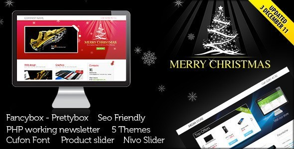 Landing Page for Christmas Offer
