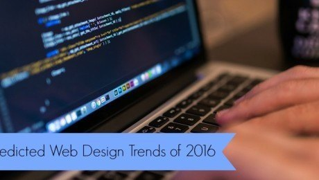 Predicted Web Design Trends for 2016