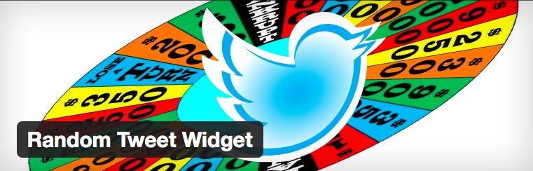 Random Tweet Widget