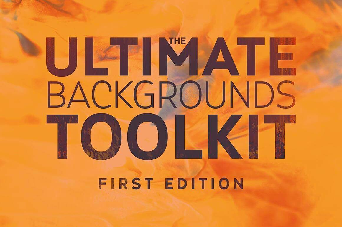 The Ultimate Backgrounds Toolkit