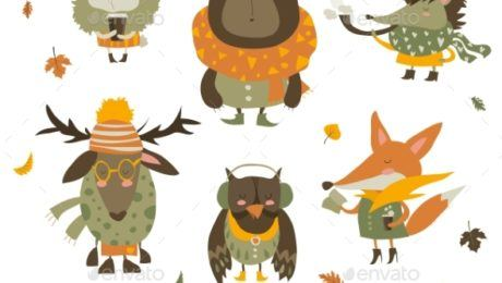 Top Ten Autumn Web Elements