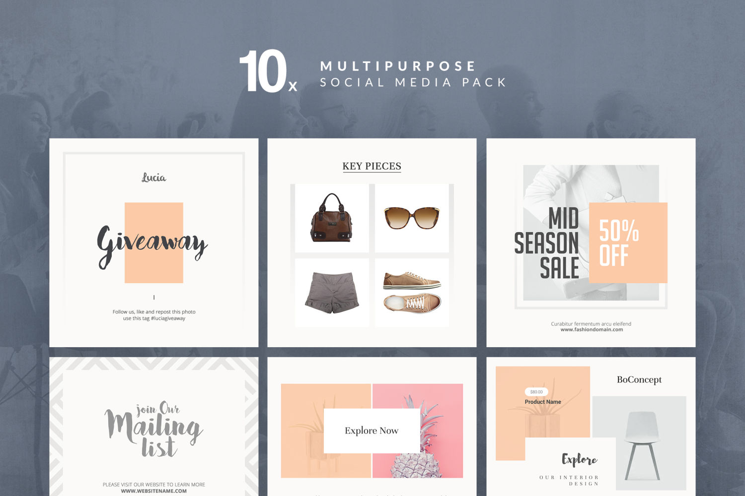 Multi-Purpose Social Media Pack