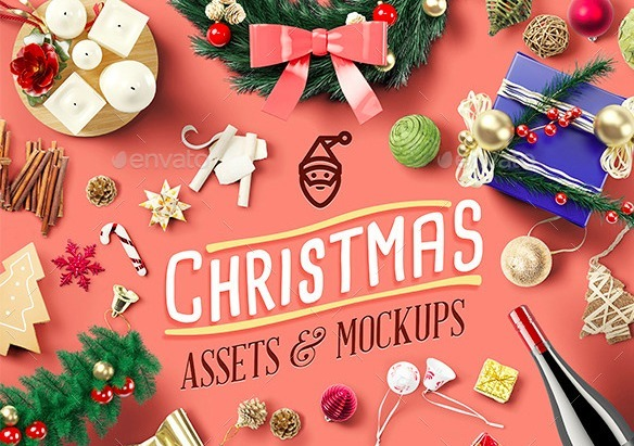 Christmas Assets and Mock Ups
