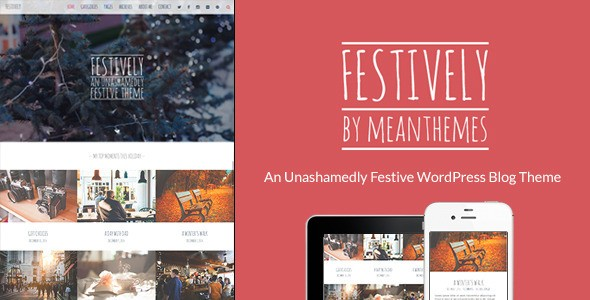 Festively Blog Theme