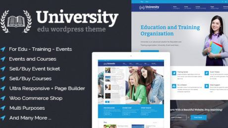 Top Ten Education WordPress Themes