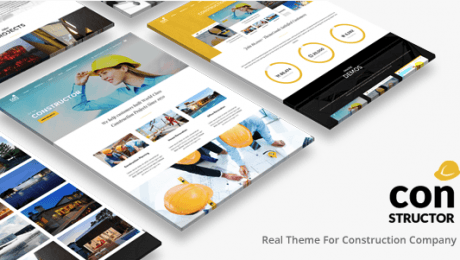Top Ten WordPress Themes for Construction Businesses