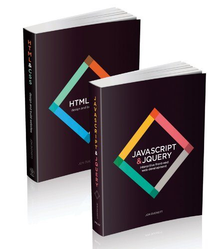 Web Design with HTML, CSS, JavaScript and jQuery by Jon Duckett