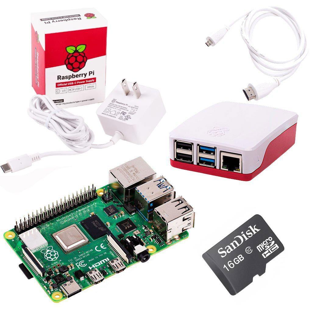 Raspberry Pi 4 Model B Starter Kit