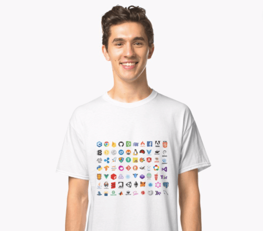 Developer Icons Classic T-shirt